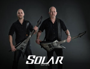 Solar Guitars artists.